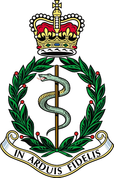 Army Medical Corps Crest Royal Army Medical Corps