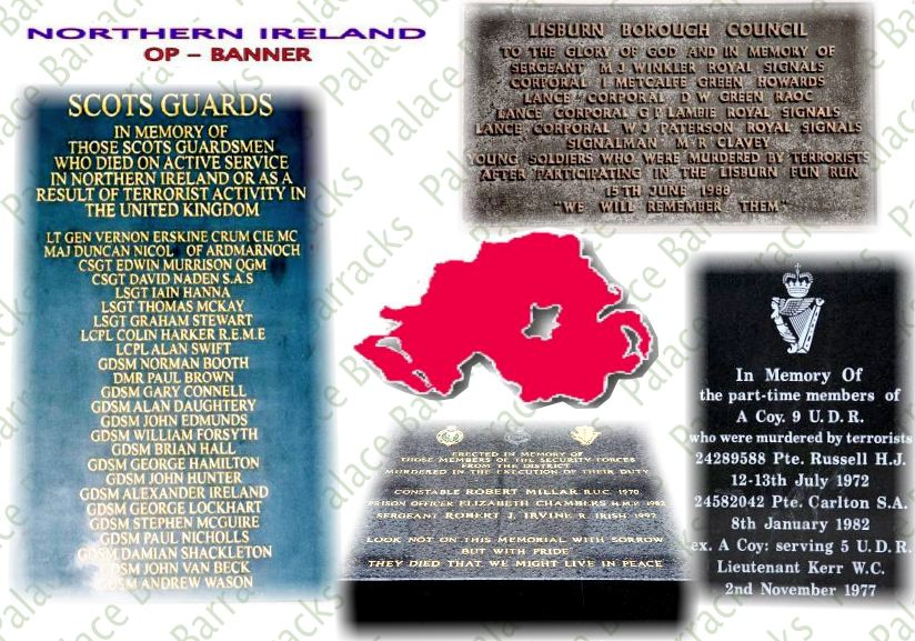 Memorials Northern Ireland 1969-2007