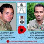 Lt Edward Drummond-Baxter and L/Cpl Siddhanta Kunwar killed in Afghanistan  30th October 2012