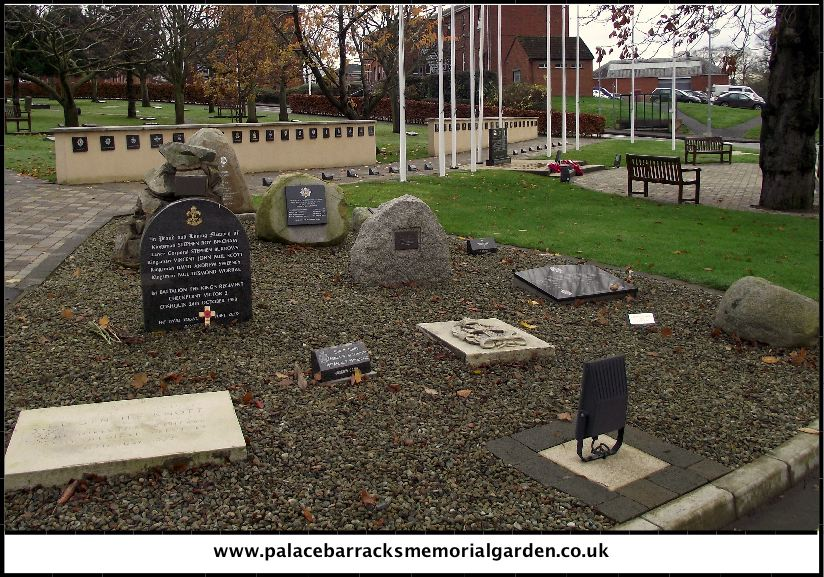 Palace Barracks Memorial Garden 19th November 2012